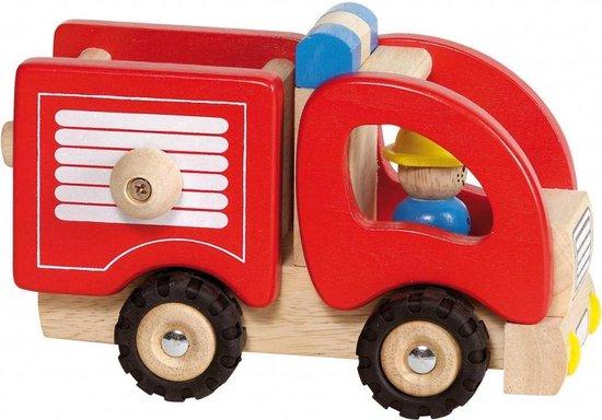 Gollnest & Kiesel Houten Brandweerauto