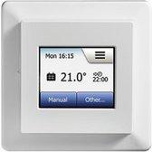2HEAT® MCD5, Inbouw klokthermostaat (grafische touchscreen display) met vloersensor (vloer-, ruimte of beide).