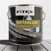 Fitex Metaallak Zijdeglans 1 liter op kleur