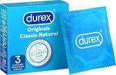 Durex Classic Natural - Condooms - 3 stuks