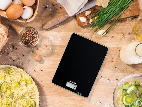 Soehnle Keukenweegschaal Page Compact 100 - Tot 5 kg - Zwart