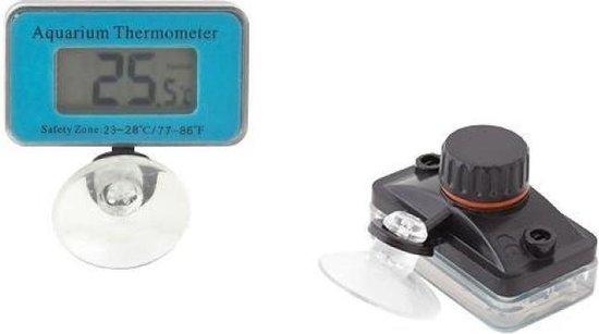 Digitale aquarium thermometer - inclusief batterij