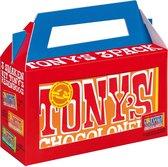 Tony's Chocolonely Rainbowpack Chocolade Cadeau - 3 x 180gr