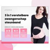 3 in 1 Buikband - Zwangerschapsband - Bekkenband - Zwangerschap cadeau - Maat L - Beige