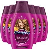 Schwarzkopf Kracht & Vitaliteit Shampoo 6x 250ml - Voordeelverpakking