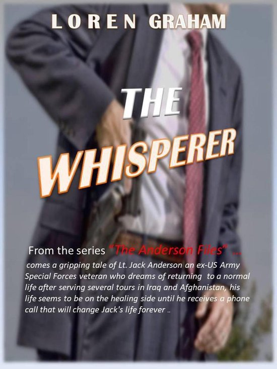 Boek cover The Whisperer van Loren J Graham (Onbekend)