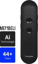Membeli® Vertaalcomputer Met Spraak 44+ Talen -  Vertaal Apparaat - Muama Enence Vertaler - Directe Vertaler - 44+ Talen - zwart - Vertaal Computer - Vertaalapparaat