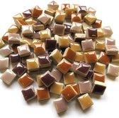 Mini squares keramiek - mix tuinaarde; 500 gram