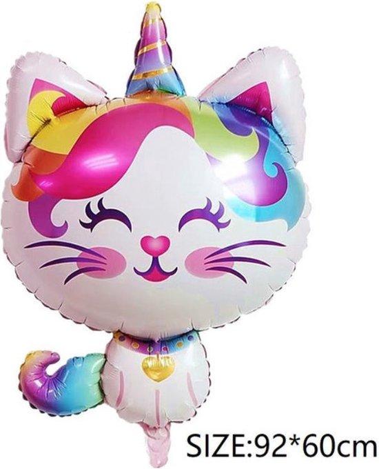 Folieballon Vrolijke Poes (31197)