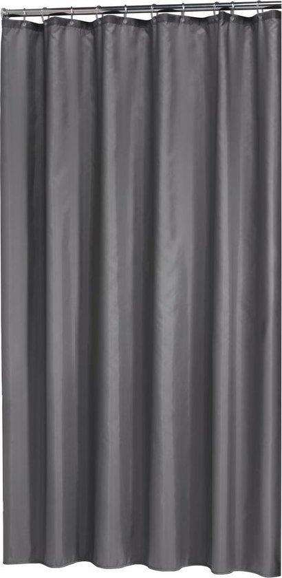 Sealskin Madeira - Douchegordijn - 120x200 cm - Grijs