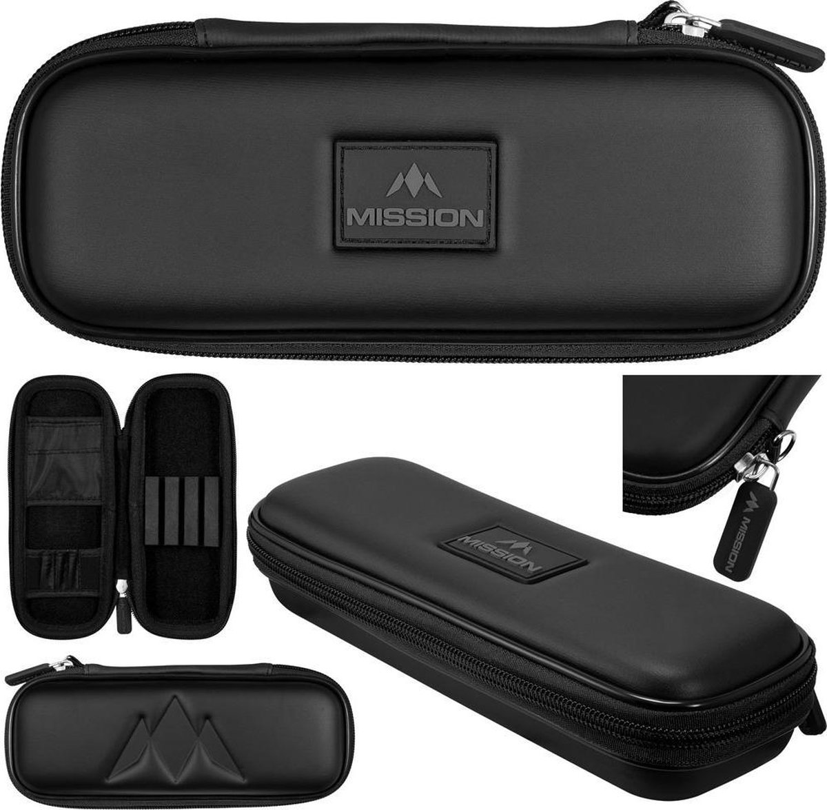 Mission Freedom Darts Case Slim - Zwart