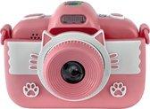 Cammy - C4 Touch Digitale Kindercamera - Kinderfototoestel - Vlogcamera Kinderen - Full HD Foto's & Video's - Dual Cam - Voor- & Achtercamera - Autofocus - Flitser - 16 GB - USB - Vlog Kinder Fototoestel - Geavanceerde Speelgoed Camera