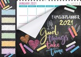 Family planner XL Home 2021 - Familieplanner XL Omlegkalender - 1 week / 1 pagina