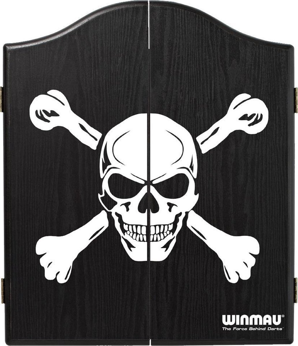 Winmau Dartkabinet Skull Zwart