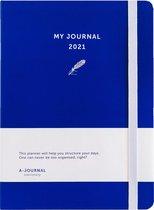 Afbeelding van My Journal Agenda 2021 - Indigo Blauw