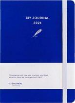 My Journal Agenda 2021 - Indigo Blauw