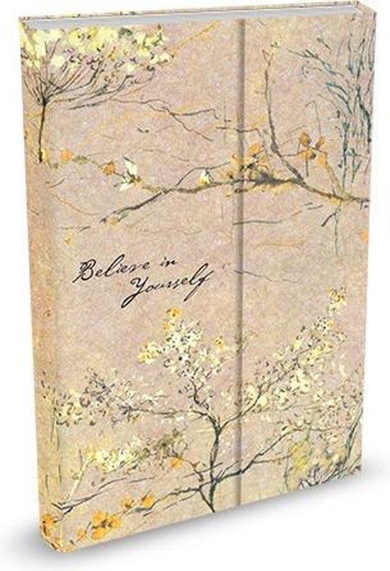Peter Pauper Notitieboek - Believe in Yourself - met magneetsluiting