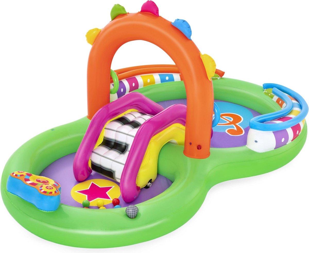 Bestway 9'8'' x 6'3'' x 54''/2.95m x 1.90m x 1.37m Sing 'n Splash Play Center