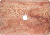 Design Hardshell Cover voor de MacBook Pro 13 inch (2020) - Light Wood