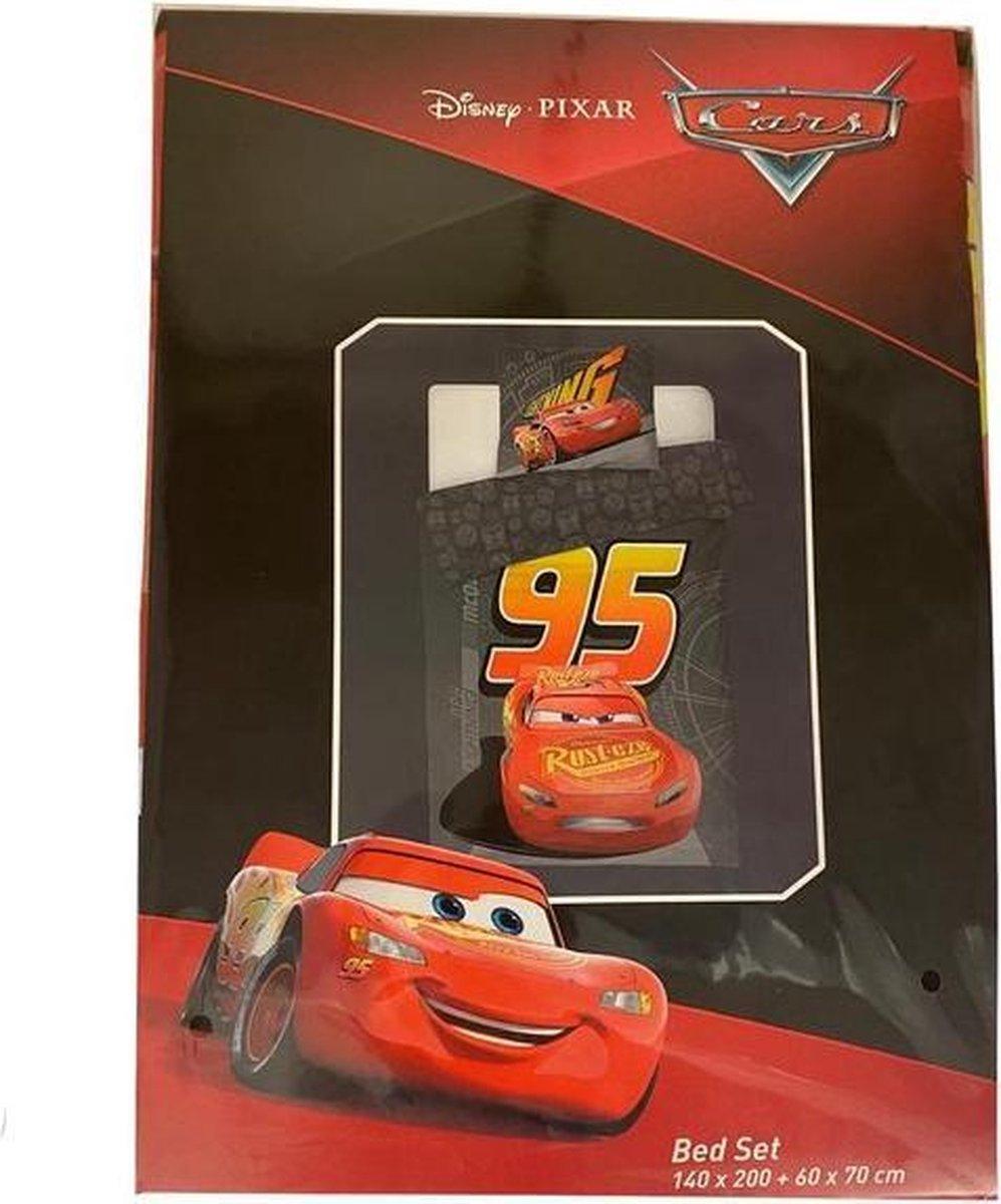 Dekbedovertrek Disney Cars - 140x200cm + 1 kussensloop 60x70cm - bed set kopen