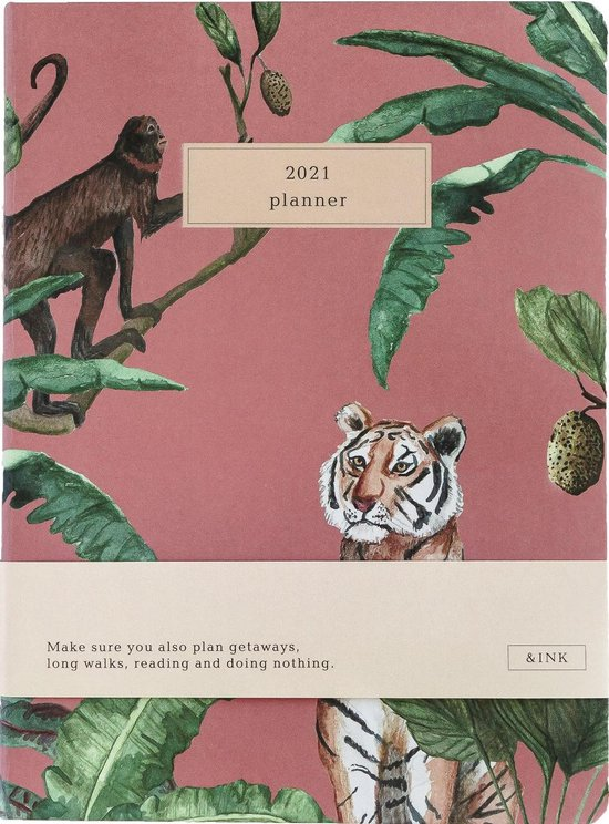 Afbeelding van &INK Agenda 2021 - Roze