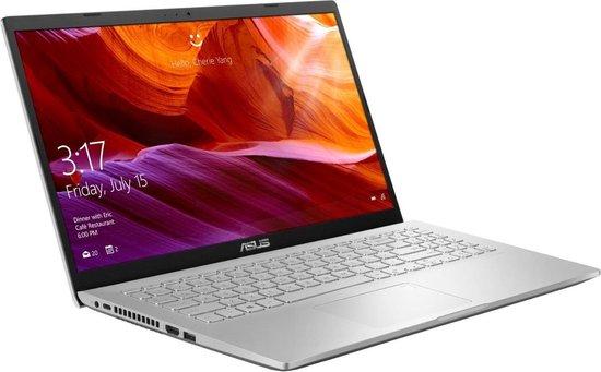 ASUS A509JA-EJ554T Notebook Zilver 39,6 cm (15.6'') 1920 x 1080 Pixels Intel® 10de generatie Core™ i3 4 GB 512 GB SSD Wi-Fi 5 (802.11ac) Windows 10 Home