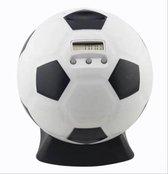 Huntex Digitale Voetbal Spaarpot - Met Muntenteller - 1,75 Liter - Geschikt Voor Euro's - Spaarpot Voor Jongen En Meisje - Sorteer - Elektrische Spaarpot - Volwassenen - Educatief Speelgoed