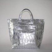 Kosmeoo Bags Dames Shopper Zilver