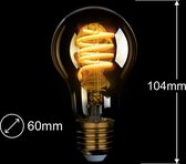 iCasa Zigbee Spiraal Filament - 2 stuks - 6cm - 40W LED-lamp