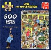 Jan van Haasteren Platform Pandemonium puzzel - 500 stukjes