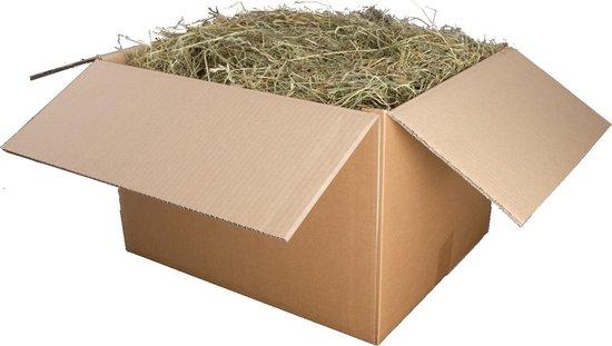 Hooi - 3kg - Rechtstreeks van de boer - Weide hooi uit Nederland - Konijnenvoer - Knaagdieren - Cavia