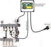 PCB type 3 BLK, pcb thermostaat met pompschakeling. Geen Wifi