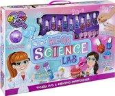 4-in-1 mega experimentenpakket voor meisjes | maak je eigen bath bombs - nagellak - lippenbalsems - parfum | Cadeau voor meisjes