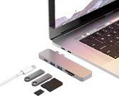 iMounts Macbook USB-C hub - USB - SD - Silver 2021