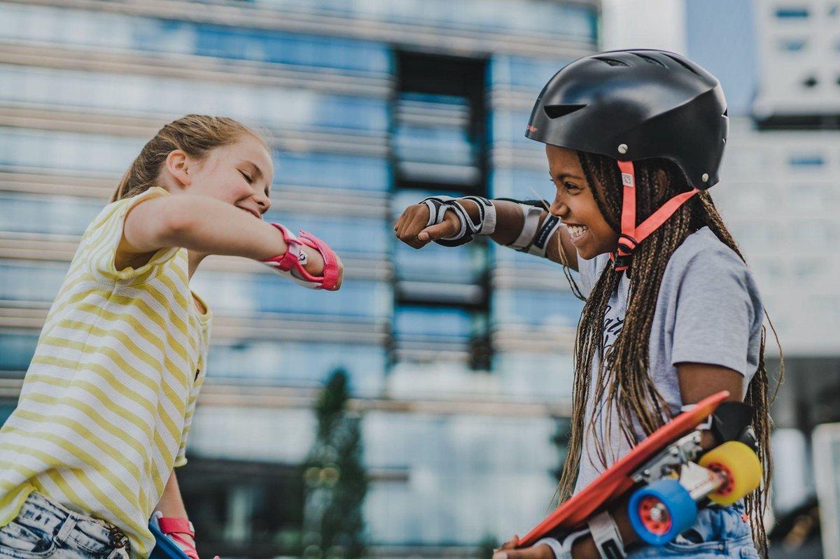 Nijdam Skate Helm - Street Sailor - Marine/Grijs - L