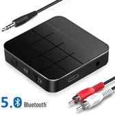 Strex Bluetooth Transmitter & Receiver 2 in 1 - BT 5.0 - 3.5MM AUX / RCA - Bluetooth Zender - Bluetooth Ontvanger - Bluetooth Transmitter - Bluetooth Receiver