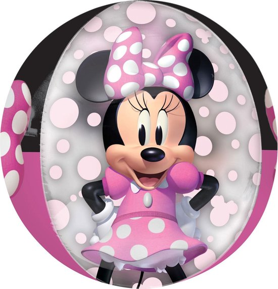Minnie Mouse Helium Ballon Deluxe 40cm leeg