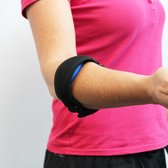 All4fysio Elleboogbrace | Tenniselleboog | Tennisarm | Brace Tenniselleboog | Golfarm bandage | Elleboog brace in Zwart