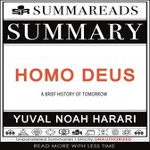 Omslag Summary of Homo Deus