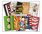 Cover Setje #5 RANDOM    voor los bij te bestellen A5 school-Plan-agenda van CitrusPers