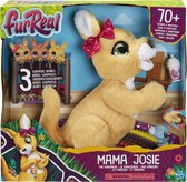 FurReal Mama Josie de Kangoeroe - Interactieve Knuffel