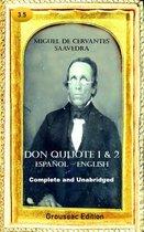 Don Quijote 1 & 2 Español – English