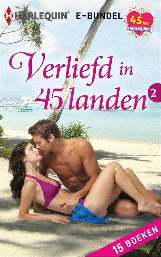 Boek cover Verliefd in 45 landen 2 van Penny Jordan (Onbekend)