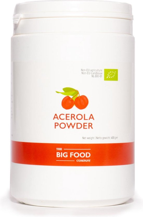 BIG FOOD ACEROLA POEDER - 200 GRAM