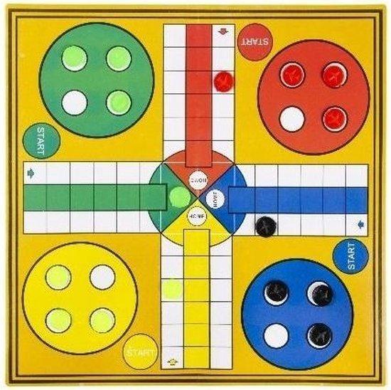 Afbeelding van het spel Ludo Reisspel Junior 24,5 X 24,5 Cm