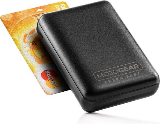 MOJOGEAR MINI EXTRA FAST 10.000 mAh Powerbank – 3 apparaten tegelijk opladen