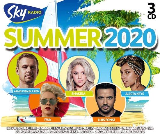 CD cover van Sky Radio Summer 2020 van Sky Radio
