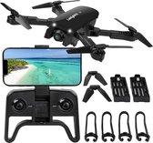 Fulvus Drone - Zwart - 4K Dual Camera - 5G WIFI FPV - Mini Drone -  Met Camera - Foto - Video - Extra Accu - Quadcopter