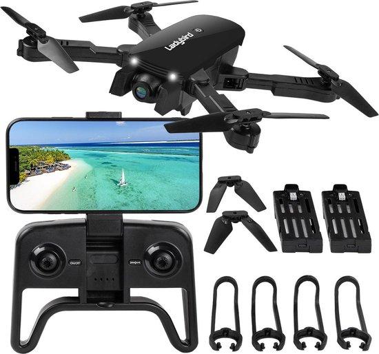 Afbeelding van Drone - Zwart - 4K Dual Camera - 5G WIFI FPV - Mini Drone -  Met Camera - Foto - Video - Extra Accu - Quadcopter