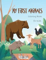 My First Animals Coloring Book for Kids